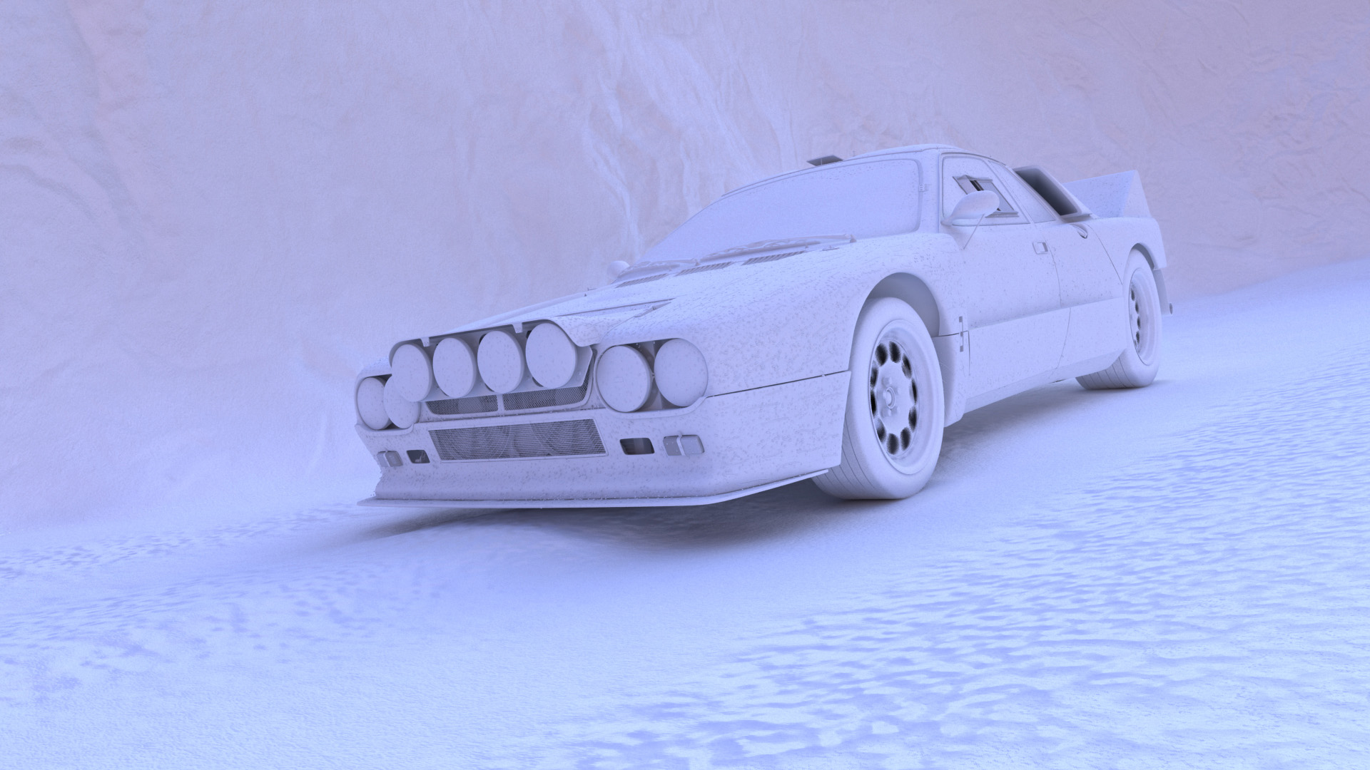 WIP Lancia 037