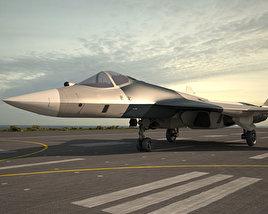 Sukhoi Su-57 (PAK FA) 3D model
