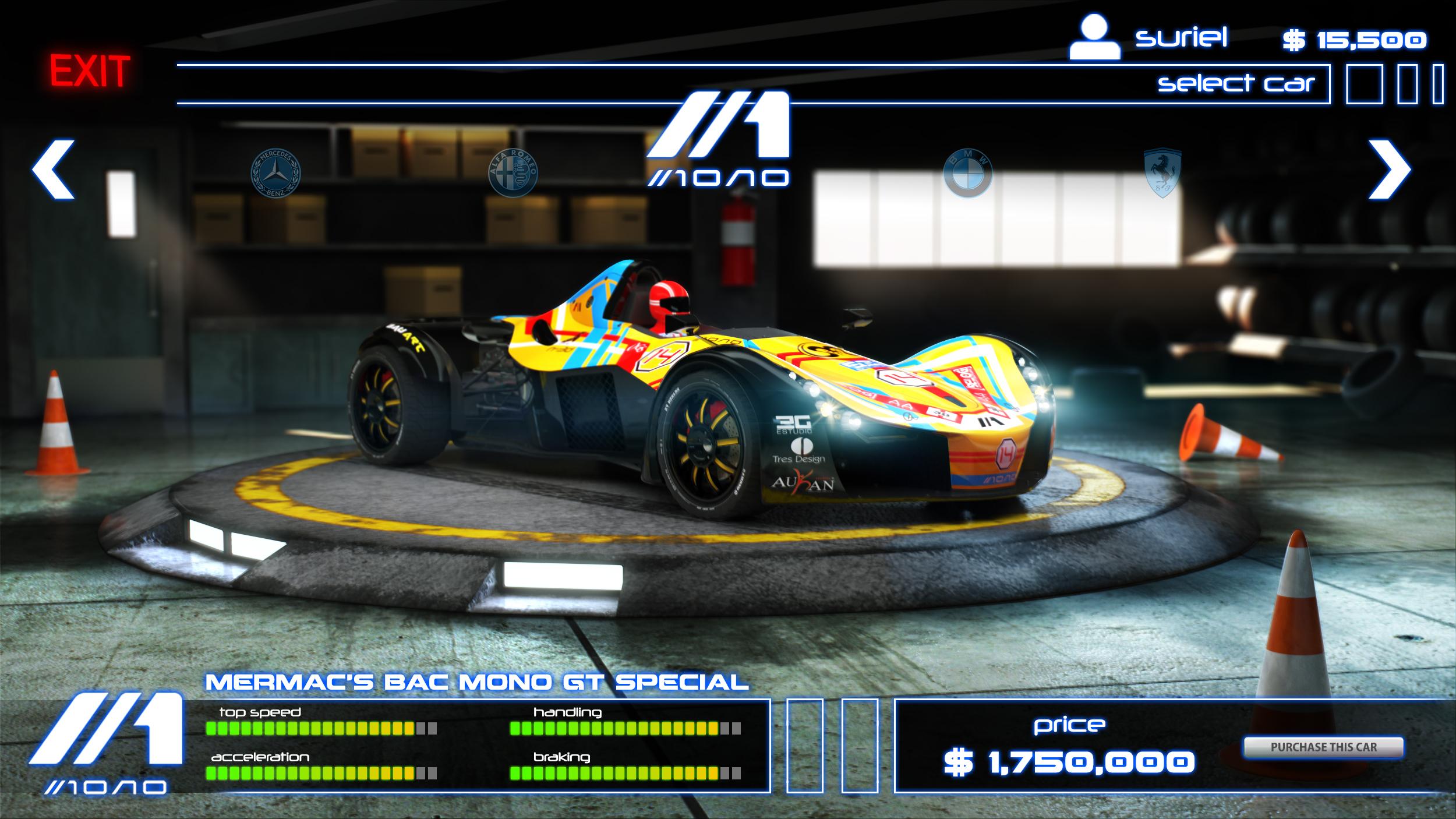 Mermac's Bac Mono GT Special 3d art