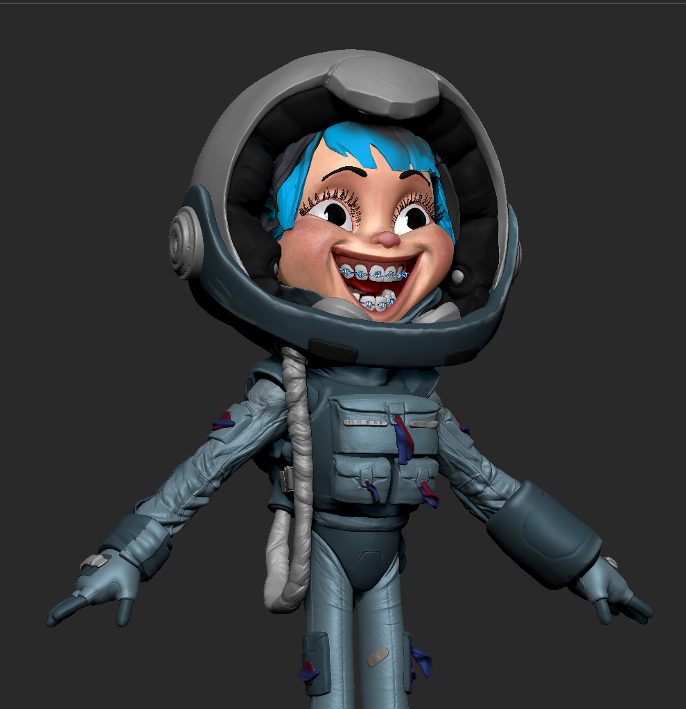 The Space Kid WIP