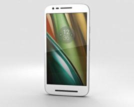 Motorola Moto E3 Power White 3D model