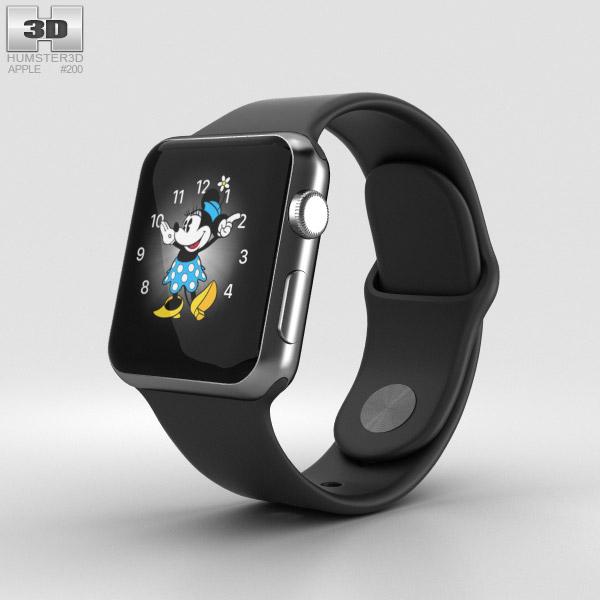 Apple Watch Series 2 38mm Space Black Stainless Steel Case