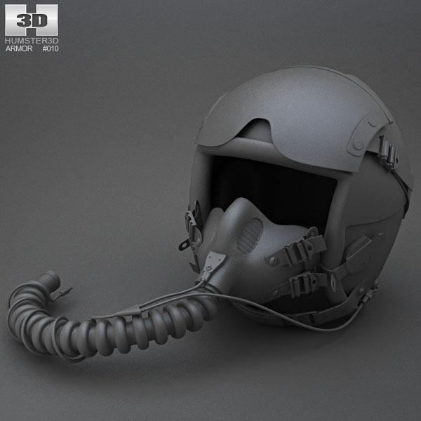 Flight Helmet 3D model
