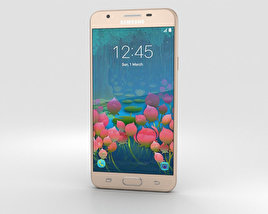 Samsung Galaxy J5 Prime Gold 3D model