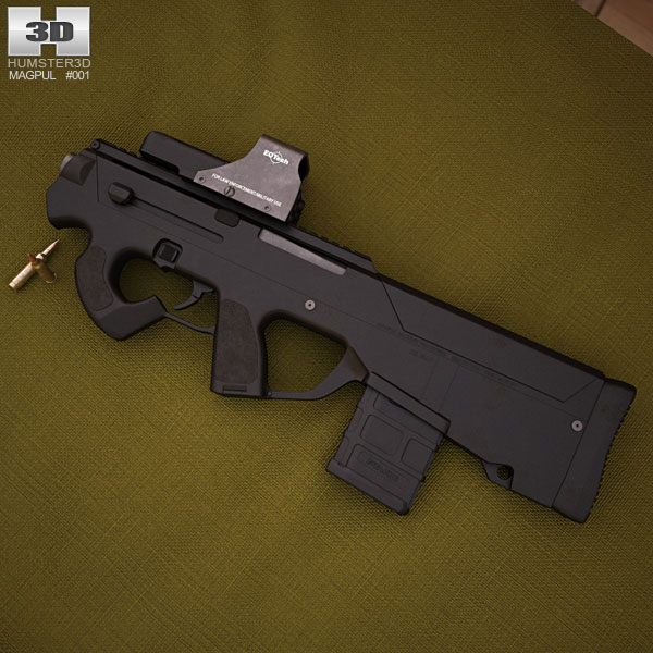 Magpul PDR with EOTech 552 3D ...