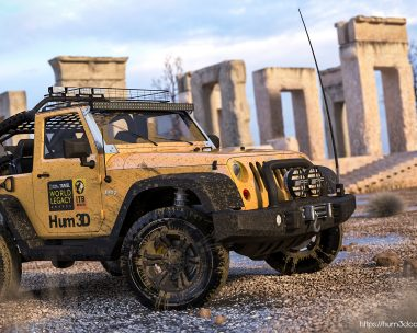Jeep Wrangler Rubicon in Persepolis