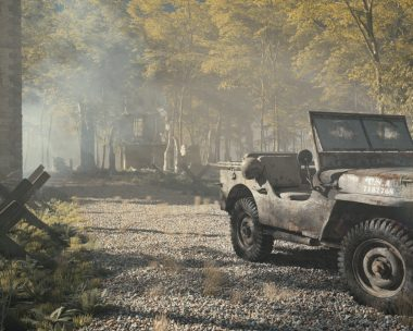 Willys jeep resting
