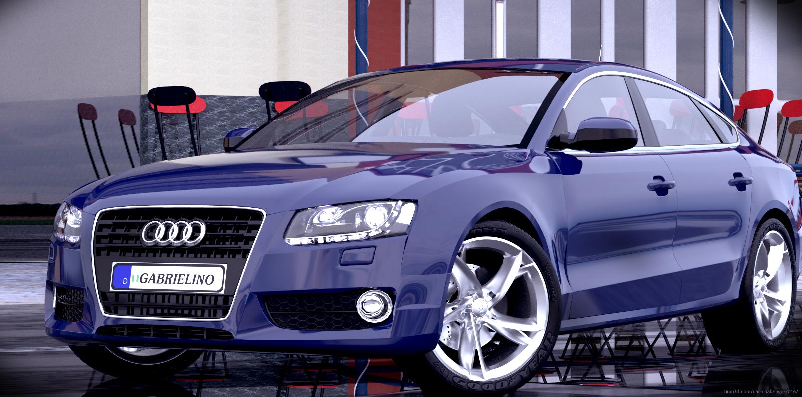 Audi A5 sportback 2007