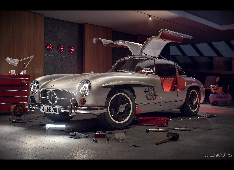 23:46 Mercedes 300SL