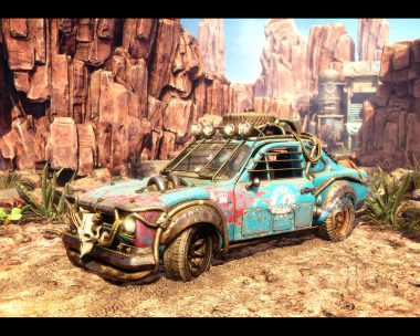 Desert Express – Ford Escort MKI