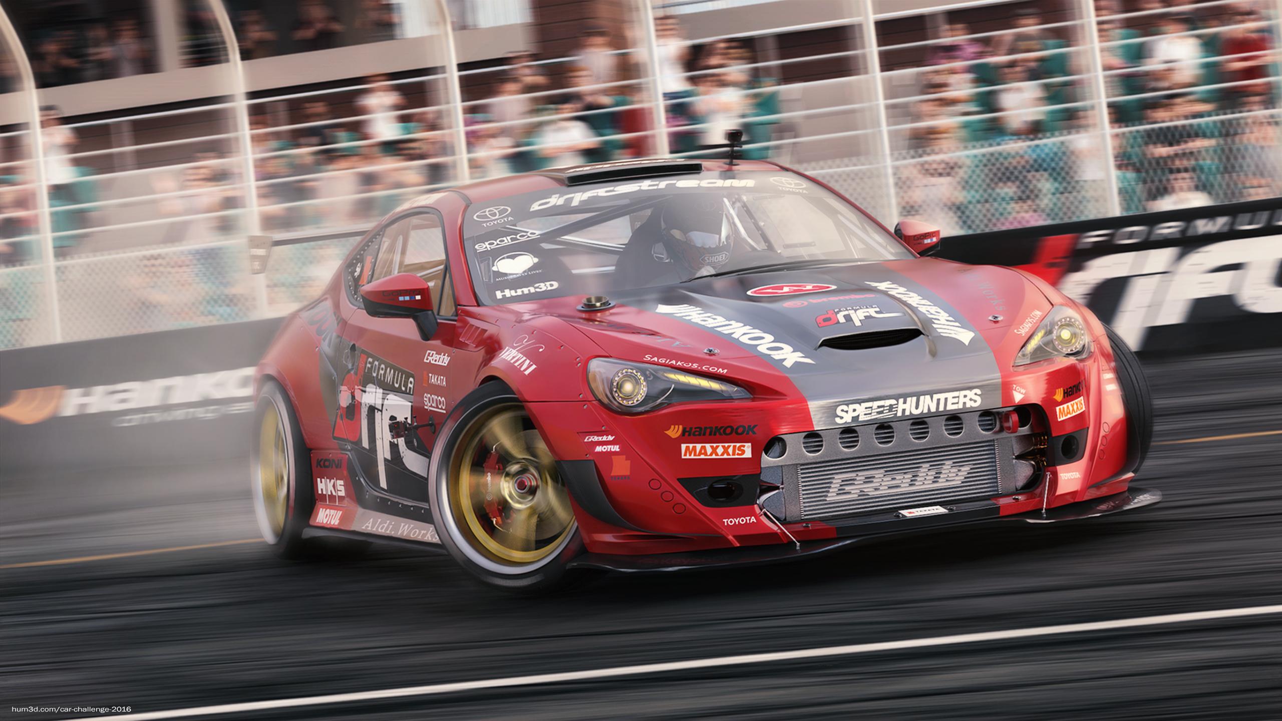 Toyota GT86 – Formula Drift 3d art