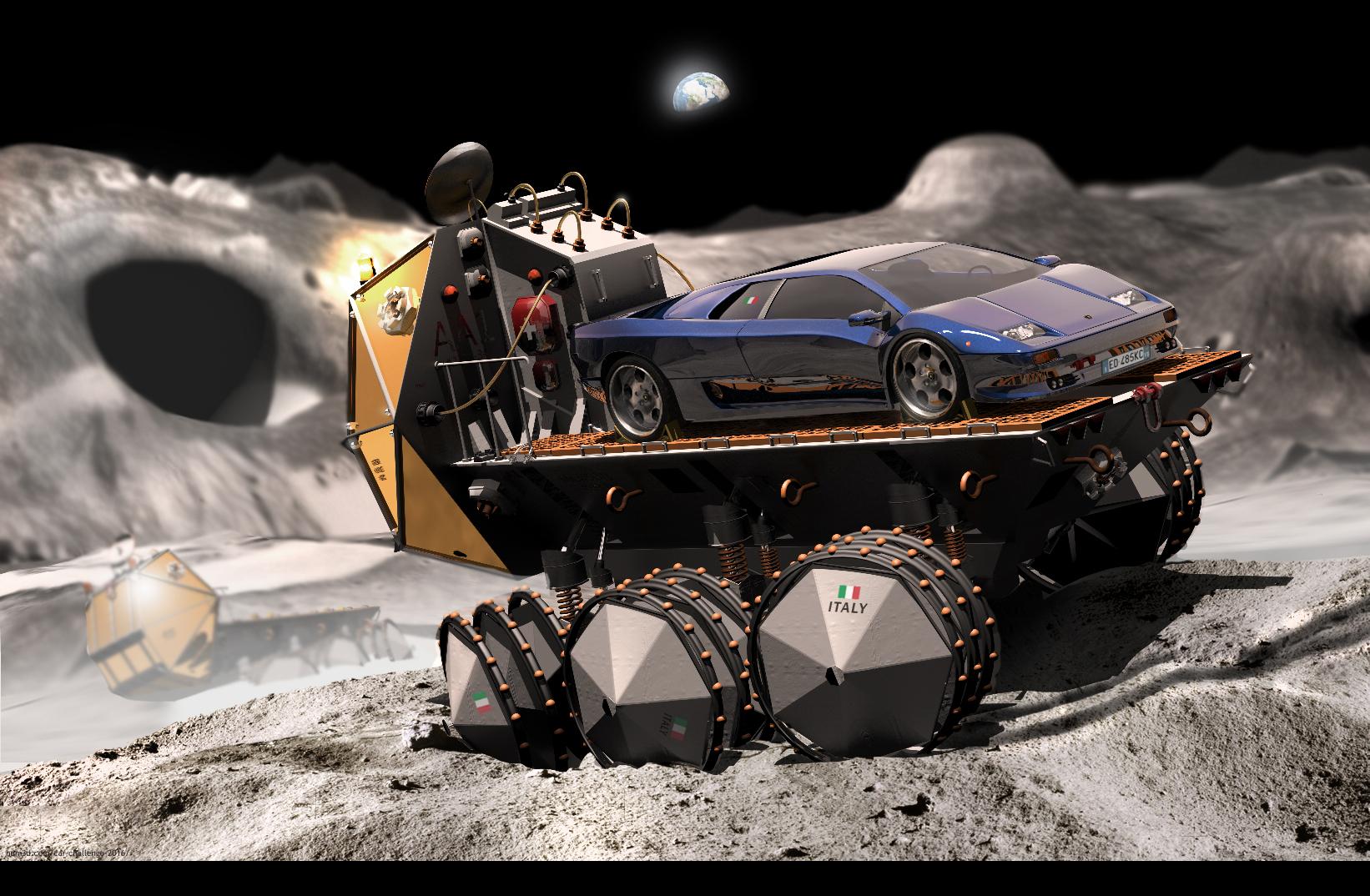 Lamborghini Diablo transportation