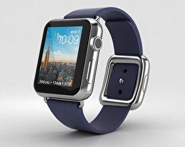 Apple Watch Series 2 38mm Stainless Steel Case Midnight Blue Modern Buckle 3D model