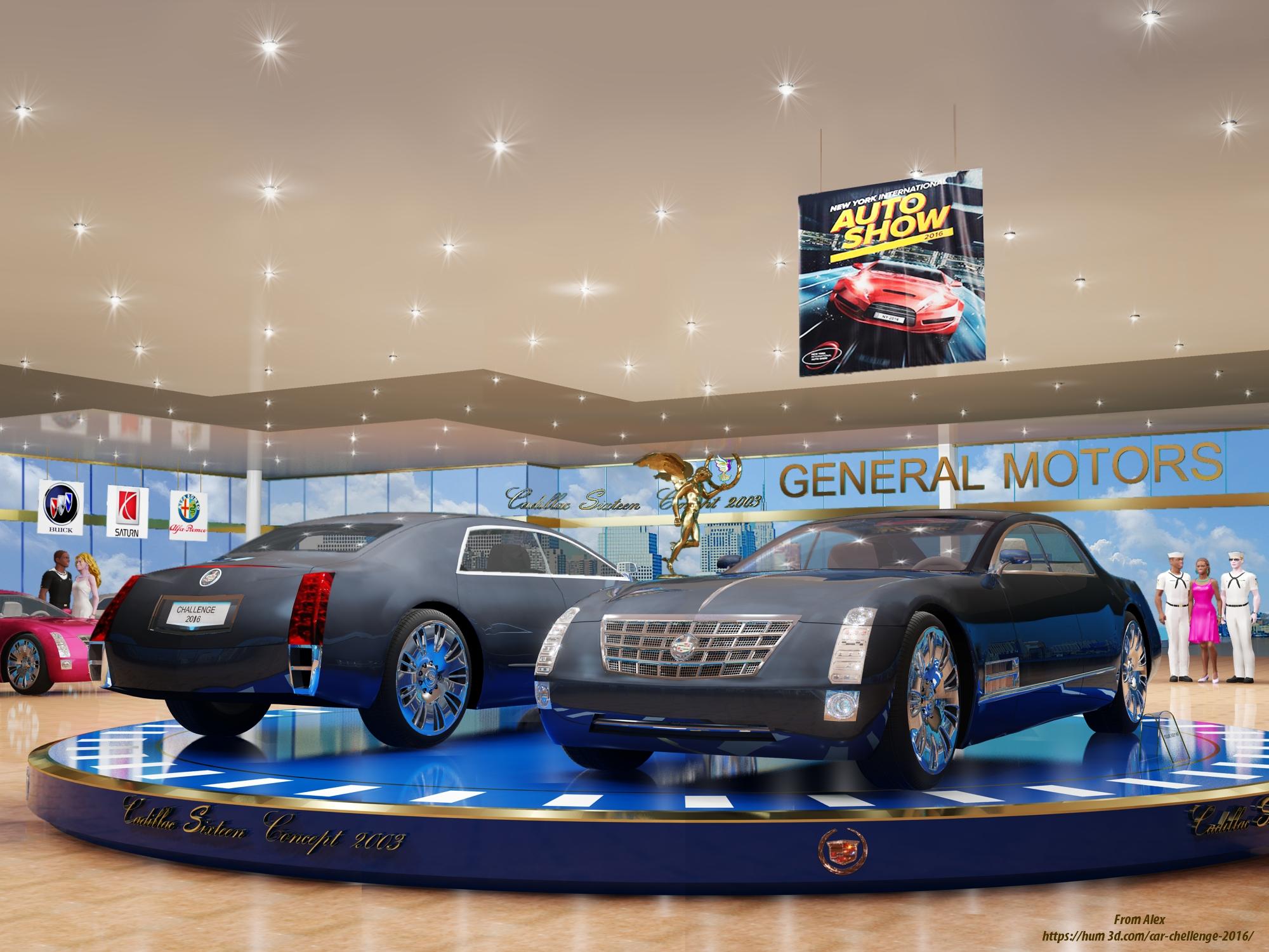 Cadillac sixsteen concept 2003