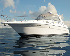 Sea Ray 330 Sundancer 3D model