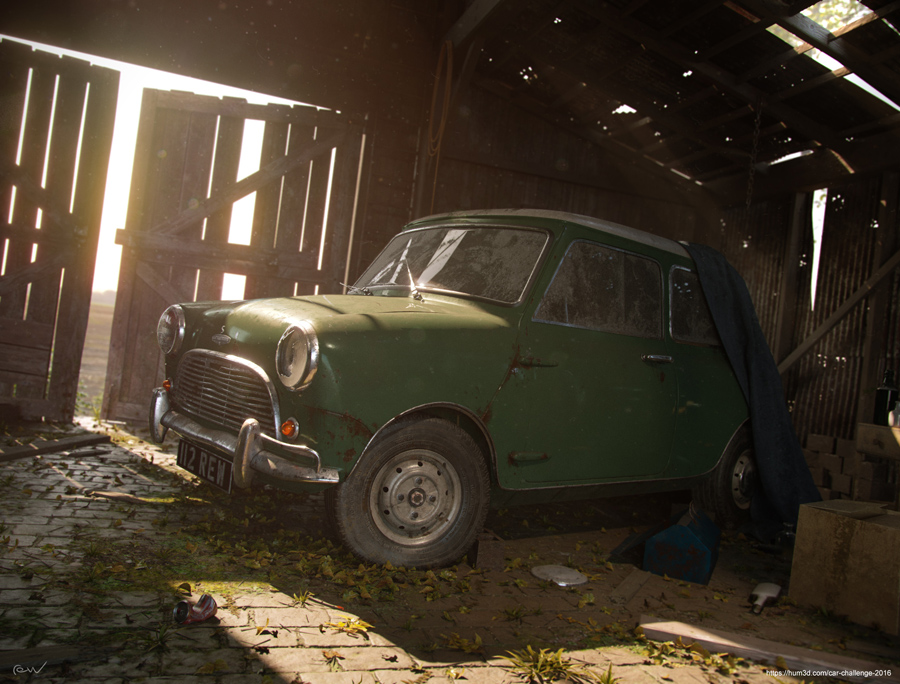 Classic Barn Find by Andy Stevenson