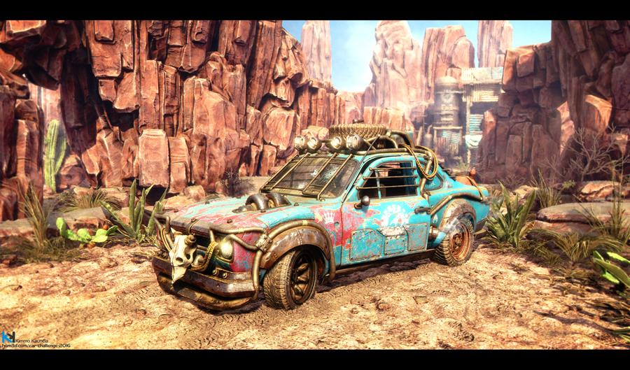 Desert Express – Ford Escort MKI by Kimmo Kaunela