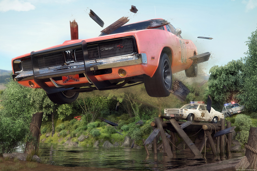 Meanwhile in Hazzard County by Jochem Aarts