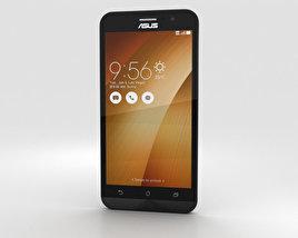 Asus Zenfone Go (ZB500KL) Sheer Gold 3D model