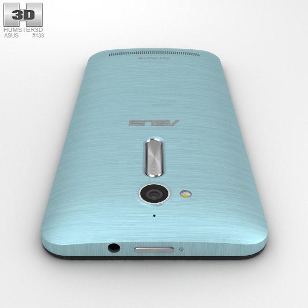 asus zenfone go zb500kl silver blue 3d model hum3d. Black Bedroom Furniture Sets. Home Design Ideas