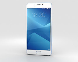 Meizu M5 Note Blue 3D model