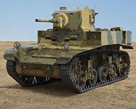 M3 Stuart 3D model