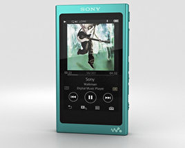 Sony NW-A35 Green 3D model