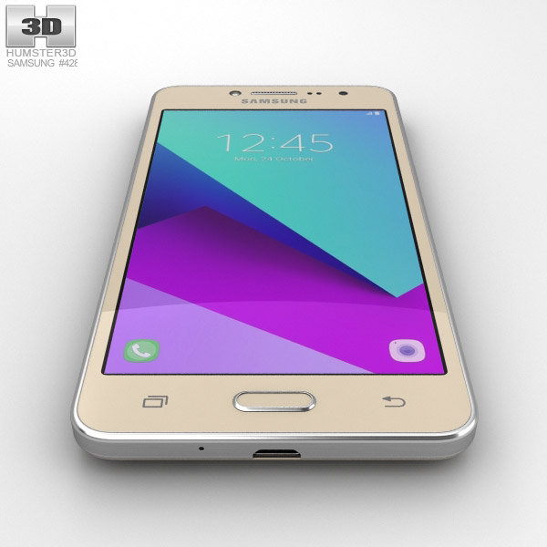 ... Samsung Galaxy J2 Prime Gold 3d model ...