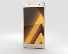 Samsung Galaxy A3 (2017) Gold Sand 3D model