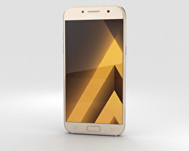 Samsung Galaxy A5 (2017) Gold Sand 3D model