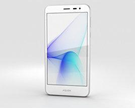 Sharp Aquos U SHV35 White 3D model
