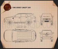 Ford Everest 2014 Blueprint