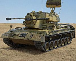 Flakpanzer Gepard 1A2 3D model
