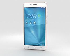 Asus Zenfone 3 Zoom Rose Gold 3D model