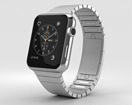 Apple Watch Series 2 42mm Stainless Steel Case Link Bracelet 3D model