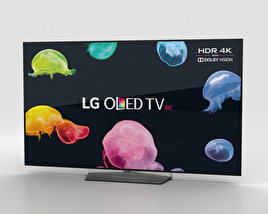 LG 55'' OLED TV  B6 OLED55B6V 3D model