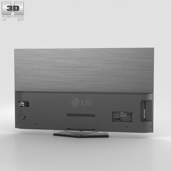 lg 55 oled tv b6 oled55b6v 3d model hum3d. Black Bedroom Furniture Sets. Home Design Ideas
