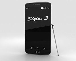 LG Stylus 3 Titan 3D model