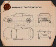 Volkswagen Golf convertible 2011 Blueprint