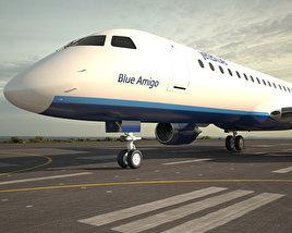 Embraer E190 3D model