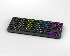Razer BlackWidow Tournament Edition Chroma 3D model