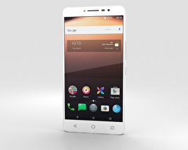 Alcatel A3 XL White 3D model