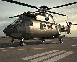 Eurocopter AS532 Cougar 3D model