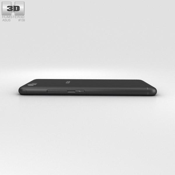 Asus Zenfone 3s Max Black 3D Model