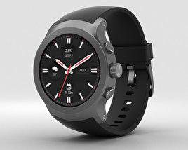 LG Watch Sport Titanium 3D model