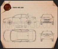 Toyota Vios 2013 Blueprint