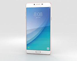 Samsung Galaxy C7 Pro Pink Gold 3D model