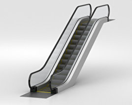 Escalator 3D model