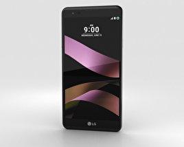 LG X Style Black 3D model