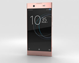 Sony Xperia XA1 Ultra Pink 3D model